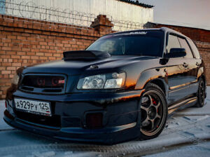 "Air intake (hood scoop) ""STI"" for Subaru forester sg5/sg9"