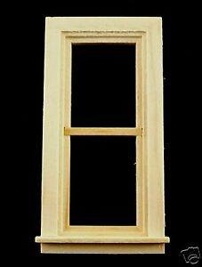 Dollhouse 1:24th Scale Traditional Nonworking Window #H5032 by:Houseworks