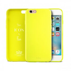 cover iphone x giallo fluo