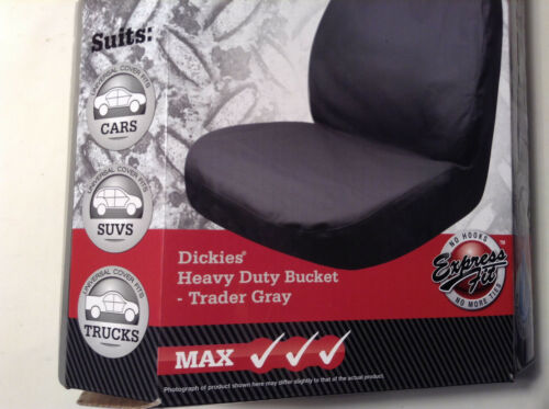 DICKIES HEAVY DUTY BUCKET SEATS GRAY
