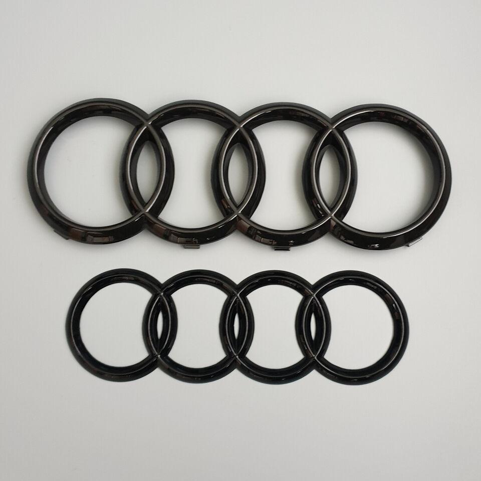 Audi Ringe Logoer Emblemer Audi Front & Bag Emb...
