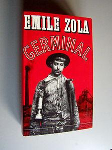 GERMINAL-Emile-Zola-1992-Profrance-Maxi-Livres-Couv-semi-rigide-L-039-Integral