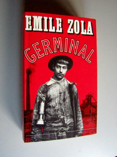 GERMINAL  Emile Zola (1992 Profrance/ Maxi- Livres Couv. semi-rigide L'Integral