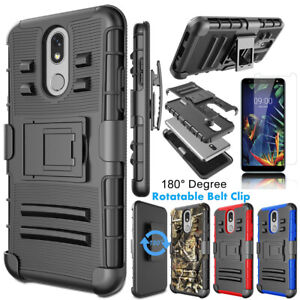 Details about For LG K30/K40/Solo/Premier Pro LTE/Xpression Plus Case  Cover+Screen Protector