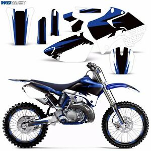 Details about Graphic Kit + Backgrounds Yamaha YZ125 YZ250  1996,1997,1998,1999,2000,2001 YZ X