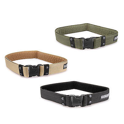 QUICK RELEASE Heavy Duty Nylon Military Trouser BELT Army Tactical Equipment