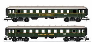 Minitrix-Trix-n-15759-coches-set-034-vacaciones-express-034-de-la-DB-nuevo-embalaje-original