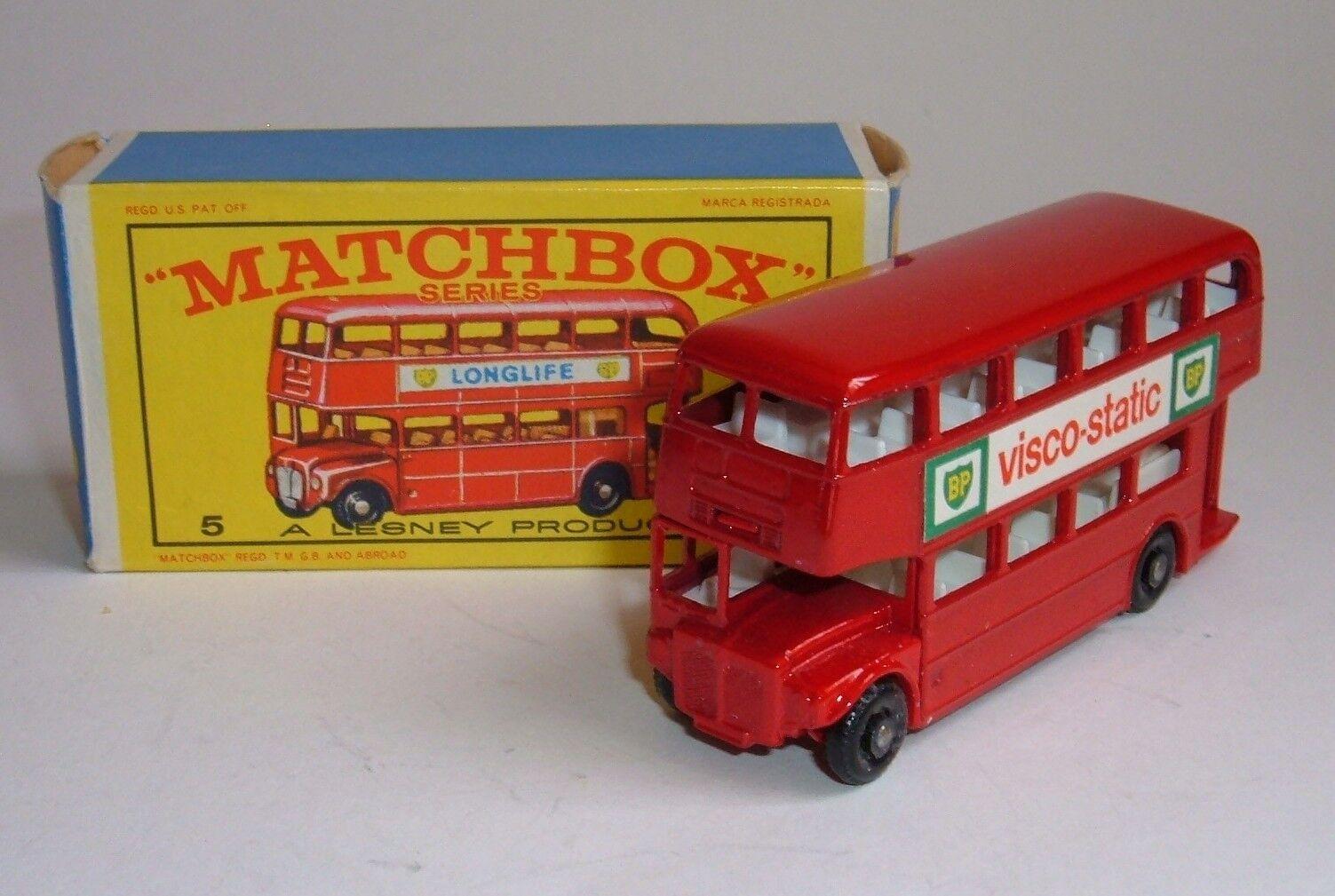 Matchbox Series No. 5, London Bus, - Superb Mint.