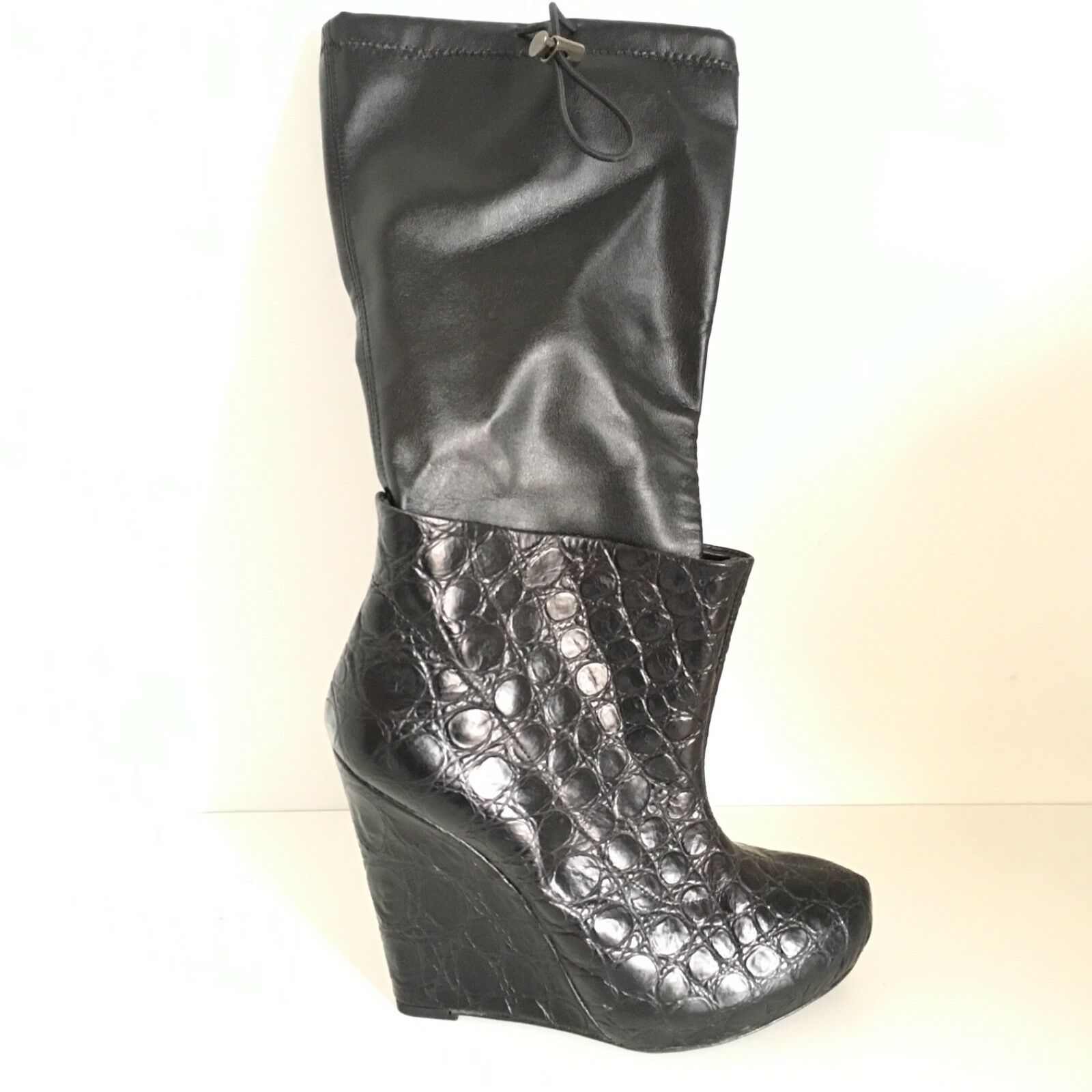 GIACOMORELLI chaussures n. 37 femme GIAW81 noir cuir