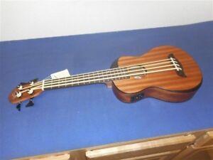 NEW-Oscar-Schmidt-OUB200K-Mahogany-Ukulele-Bass-amp-Gig-Bag