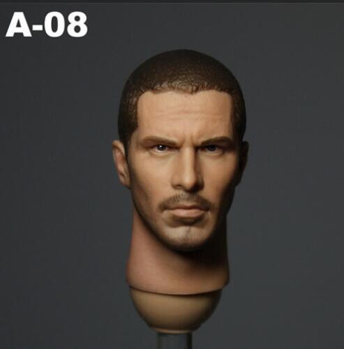 1//6 Scale Connor Head Sculpt Male Headplay F12/'/' Phicen Body Figure ZY Toy A-08