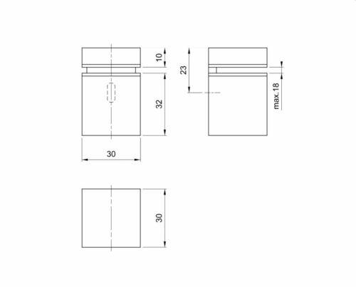 Regalbodenträger Bodenträger Glasblodenträger Tablarträger