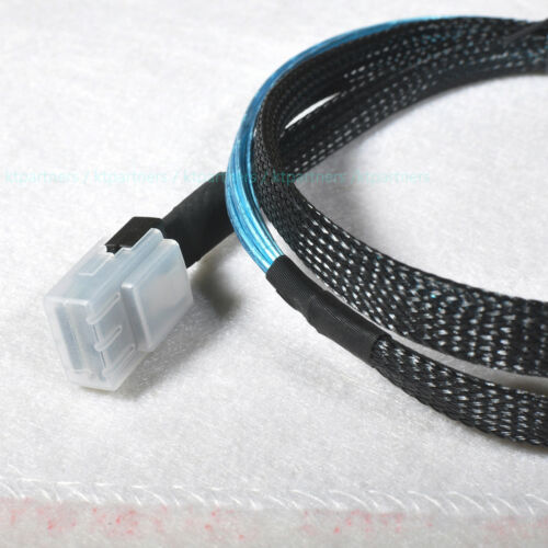 3 Feet Mini SAS 36-Pin SFF-8087 to 4x SFF-8482 Connectors With SATA Power Cable