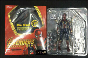 S-H-Figuarts-SHF-Avengers-Infinity-War-Iron-Spider-Man-Action-Figure-in-Box-b