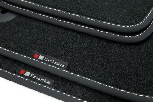Exclusive-line Design Fußmatten für Audi TT 8J Coupe Roadster S-Line Bj 2006-20