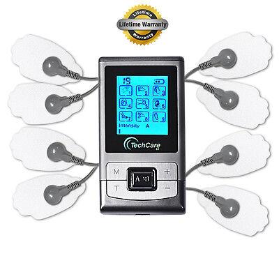 TENS Electronic Massager Unit Dual Full Body Handheld Pain Ache Sciatica Relief