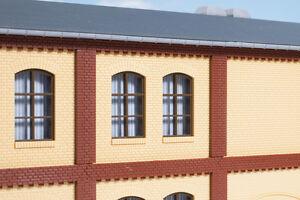 Auhagen-80416-Escala-H0-Columnas-Piso-superior-y-Frisos-de-ladrillos-rojo-en
