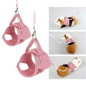 Small-Animal-Pet-Clothes-Squirrel-Guinea-Pig-Front-Harness-Outdoor-Vest-Harness