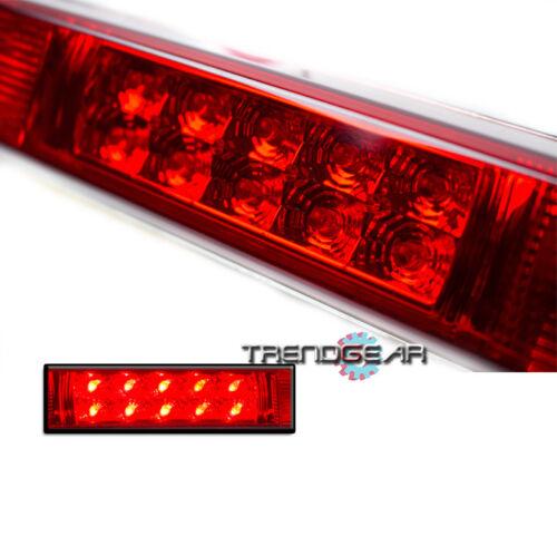 1988-1998 C//K C10 PICKUP TRUCK SILVERADO SIERRA LED THIRD 3RD BRAKE LIGHT RED
