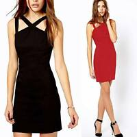 Sexy Night Out Skin-tight Women's Soiree Club Cocktail Party Bodycon Dress Mini