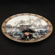 """VINTAGE DAVENPORT LIMITED EDITION COLLECTOR PLATE-""""A GREAT AND GLORIOUS VICTORY"""""""