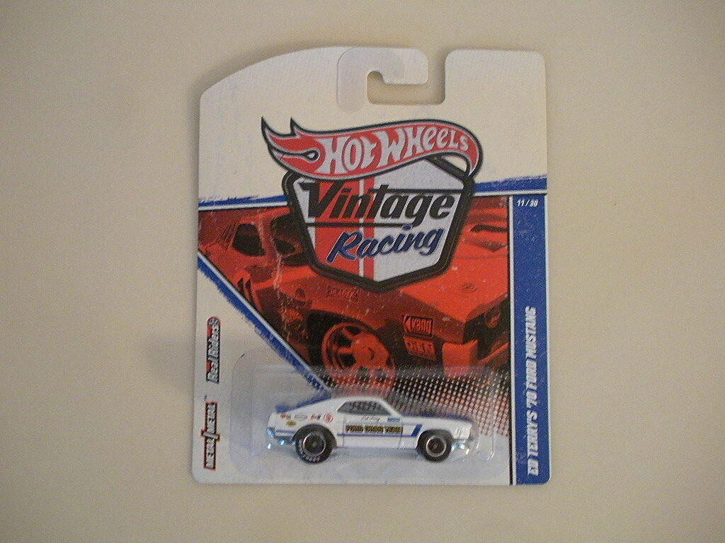 Hot Wheels Vintage Racing Ed Terry's'70 Ford Mustang