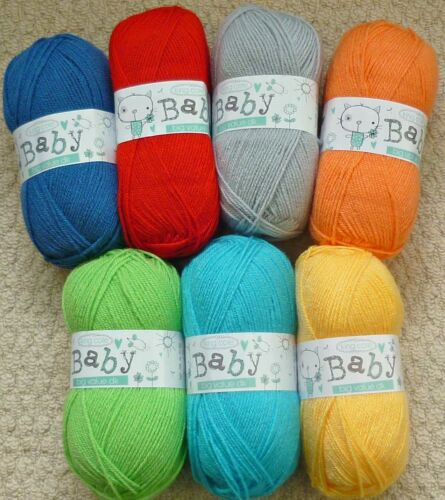 Knitting Pattern Childrens Smock Veste Manteau /& Chapeau Contraste côtes DK 4444