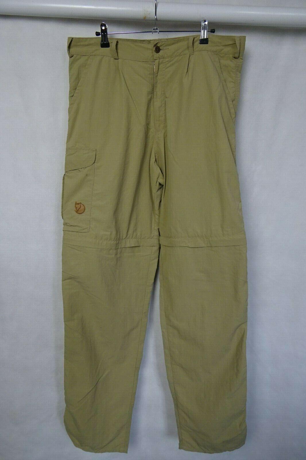Uomo Fjällräven Outdoor Zip-Off Pantaloni Pants Pants Pants W36 L34 6a434e