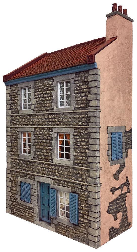 Britains Diorama Zubehör HA2002 Europäische Haus MIB