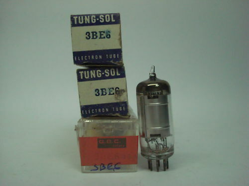 NIB NOS 3BE6 TUBE RC8