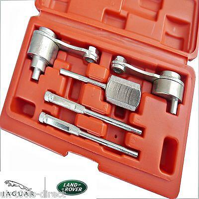100% Vero Jaguar Land Rover Kit Attrezzi Di Settaggio E Bloccaggio Fasatura 2.7d Tdvi Tdv6 Facile Da Riparare