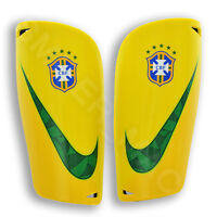 Nike Mercurial Lite Brazil Football Soccer Shin Pads Only-doesn't Include Sleeve