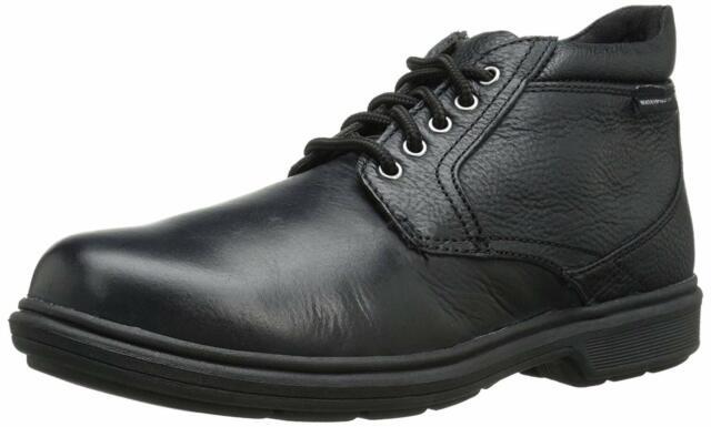 NUNN BUSH Black Tumble Leather Webb