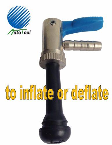 Automatic Tire Deflator//Inflator OPEN Air Chuck AC1112 Chrome//Pastic Finish