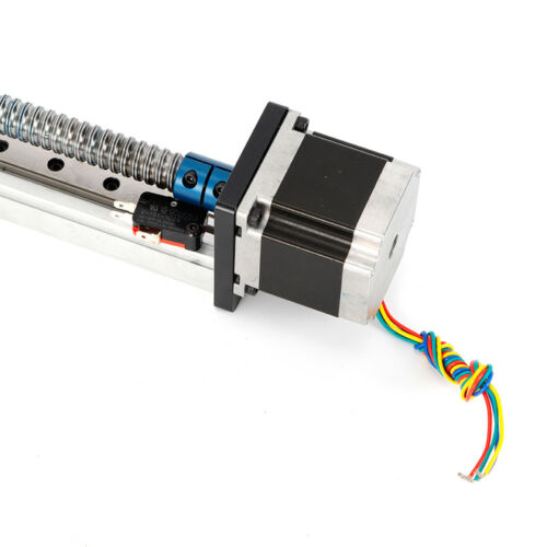 CNC Linear Ball Screw Actuator Lead Stage Slide Rail Guide Nema 23 Stepper Motor