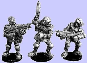 Wartech-with-autogun-set-of-3-28mm-Unpainted-Wargames