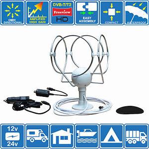 digital aktiv omnidirektional hd tv freeview radio antenne. Black Bedroom Furniture Sets. Home Design Ideas
