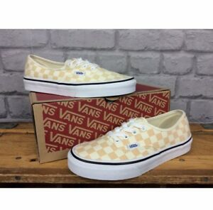 Vans Authentic Checkerboard Apricot