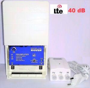 Amplificador-de-mastil-TDT-alimentador-ROVER-40-dB-LTE
