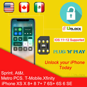 Cell-Unlock-CHIP-iPhone-Sprint-ATT-TMOBILE-7-8-Plus-X-11-max-Pro-IOS-13-5-1