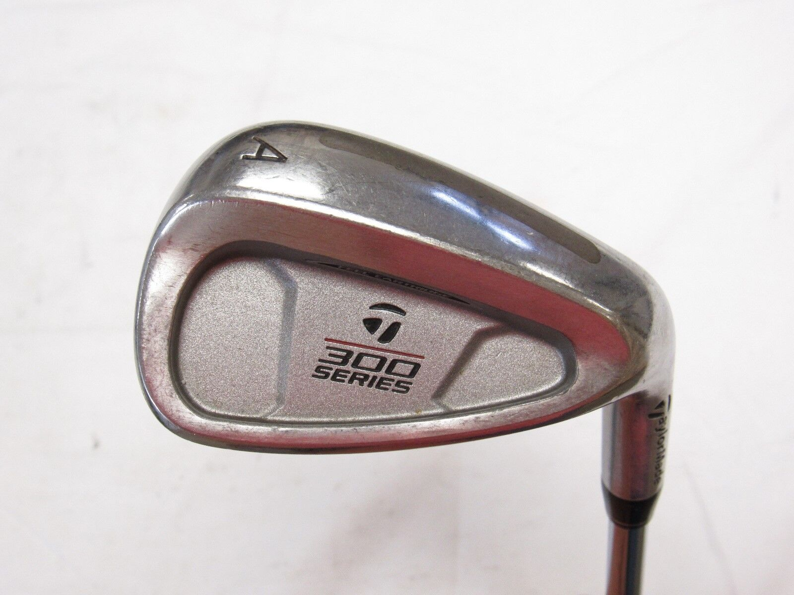 Used RH Taylormade 300 Series Gap A Wedge TaylorMade Rifle 80 Steel Regular Flex