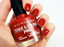 N° 6 06 Rouge Profond TENUE & STRONG PRO de Gemey Maybelline Vernis à Ongles