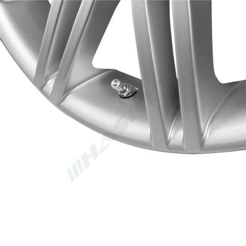 4x in alluminio argento metallo VALVOLE CERCHI VALVOLE VALVOLA CERCHIONI CERCHI IN LEGA 11,3mm