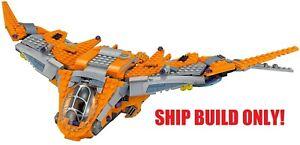Lego-Marvel-Superhelden-Waechter-Schiff-76107-bauen-nur-Keine-Minifiguren