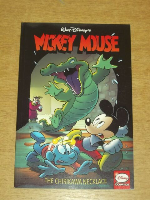 Mickey Mouse Chirikawa Necklace IDW Disney Comics (Paperback)< 9781631405754