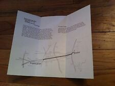 Vintage Directions Logan Airport to Prime Education Center Framingham MA MAP old