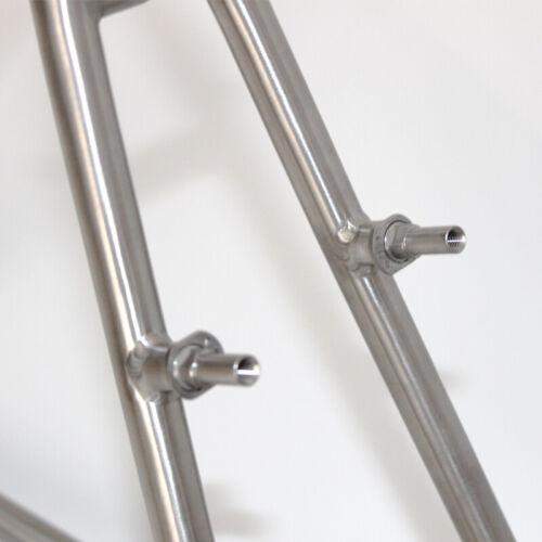 V Brake Column Screw 2PC M10 Titanium Alloy Bike bicyle Brake V Brake