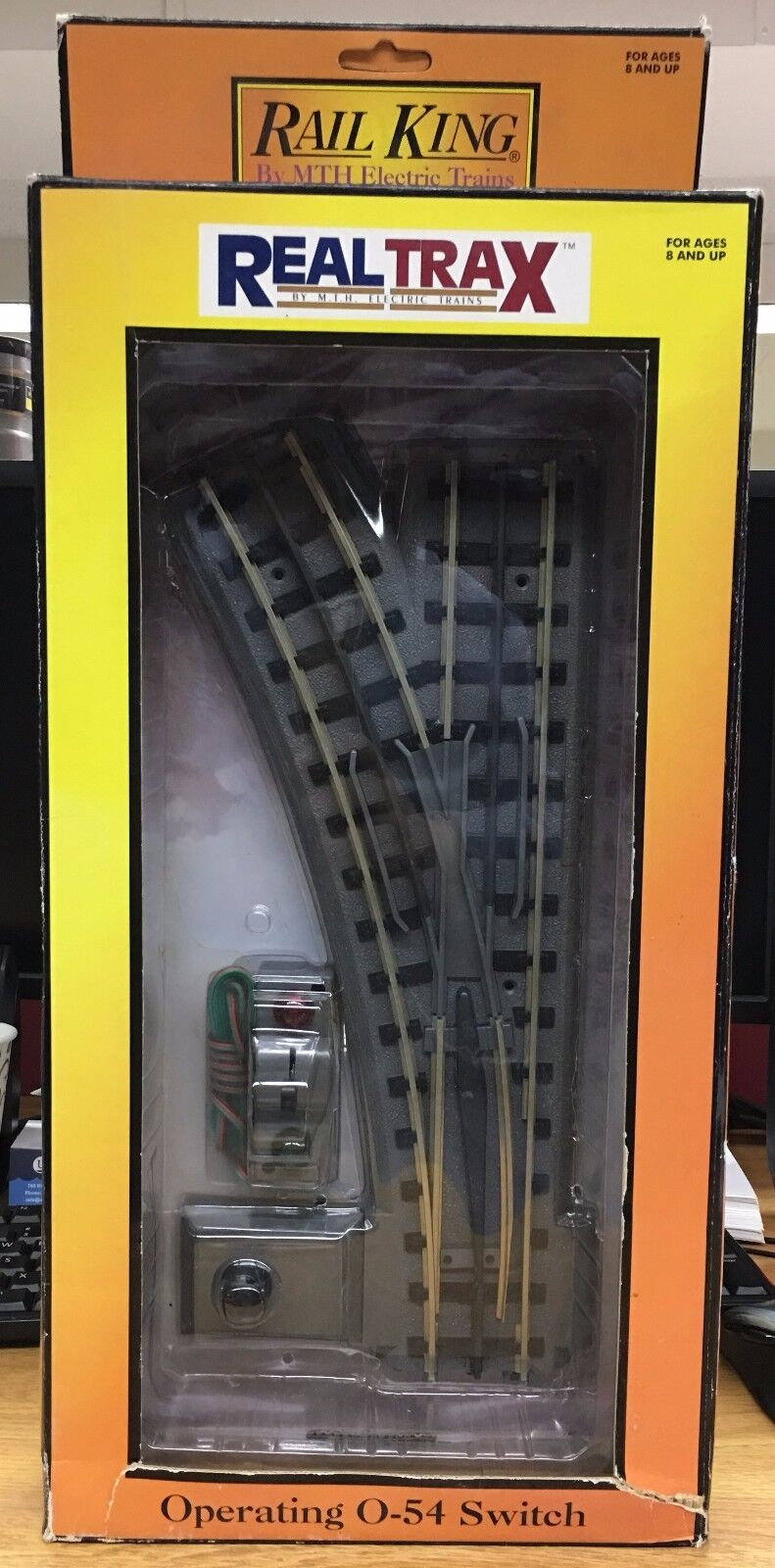 MTH 401044 RealTrax O42 Left He Switch
