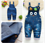 26-style-Kids-Baby-Boys-Girls-Overalls-Denim-Pants-Cartoon-Jeans-Casual-Jumpers thumbnail 38