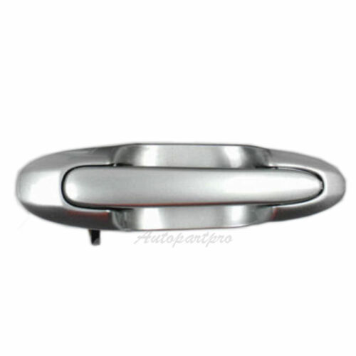 DM133S4 Outside Door Handle Rear Passenger Right For 00-06 Mazda MPV 33S Silver